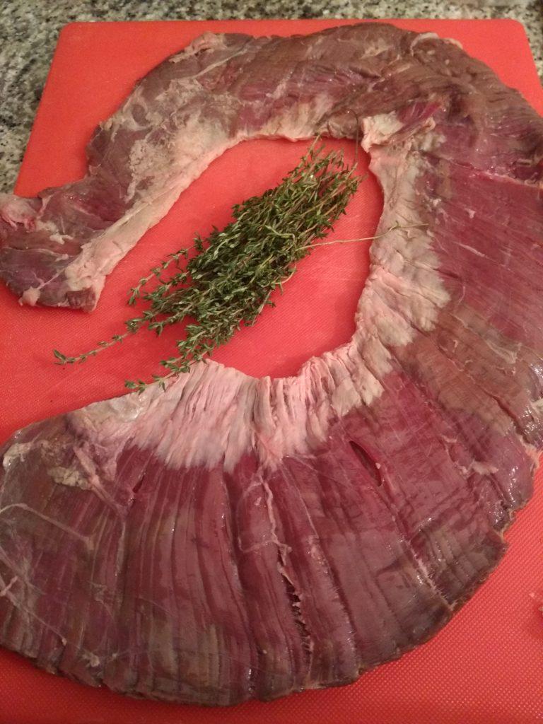 Sous-vide Skirt steak