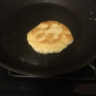 Arepa Frying