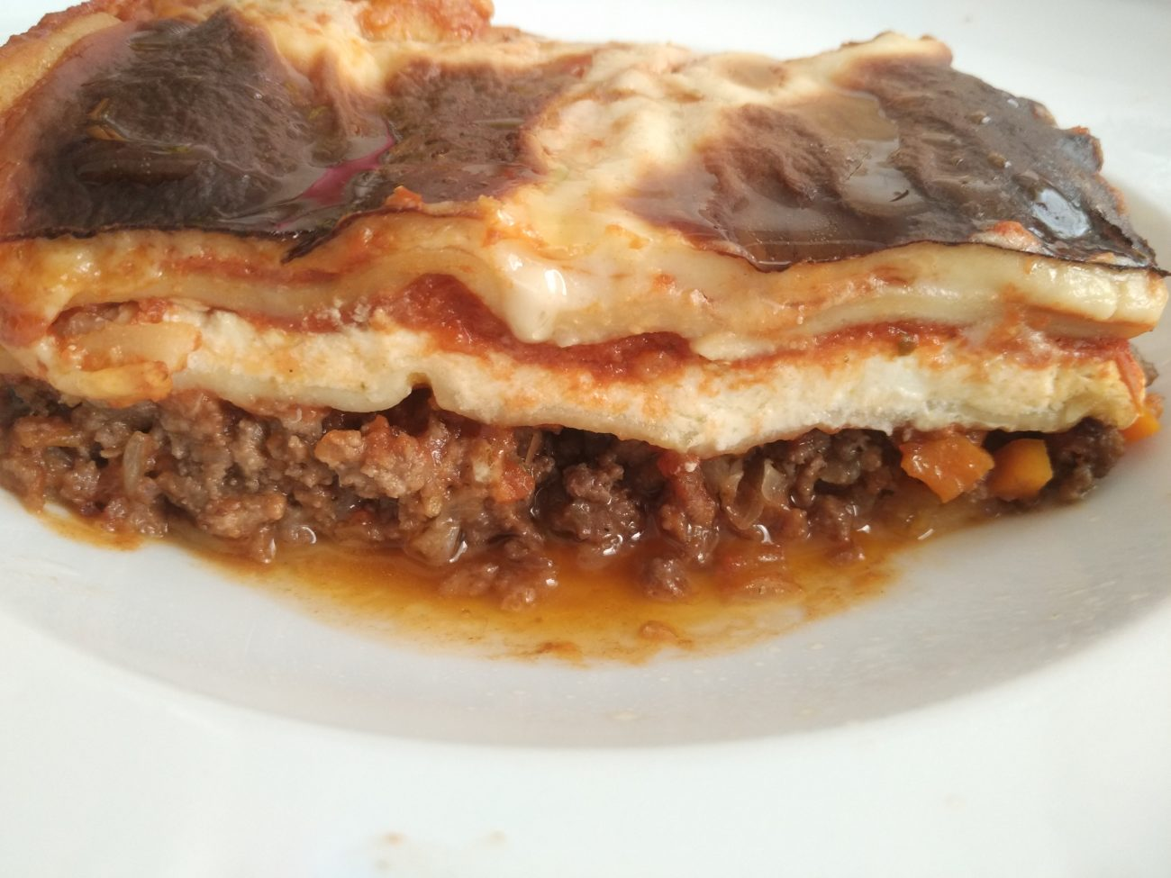 The best Meat and Ricotta Lasagna