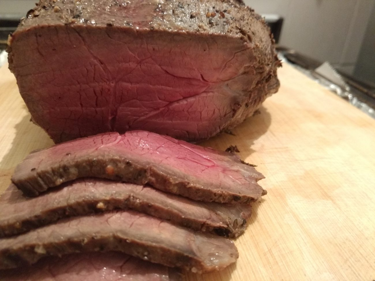 Oven roasted Rump
