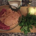 Beef Chicken Meatballs Ingredients