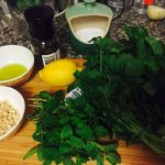 Green Herbs Salad Ingredients