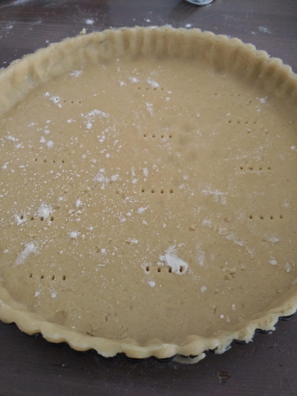 Sweet tart dough (pâte sucrée)