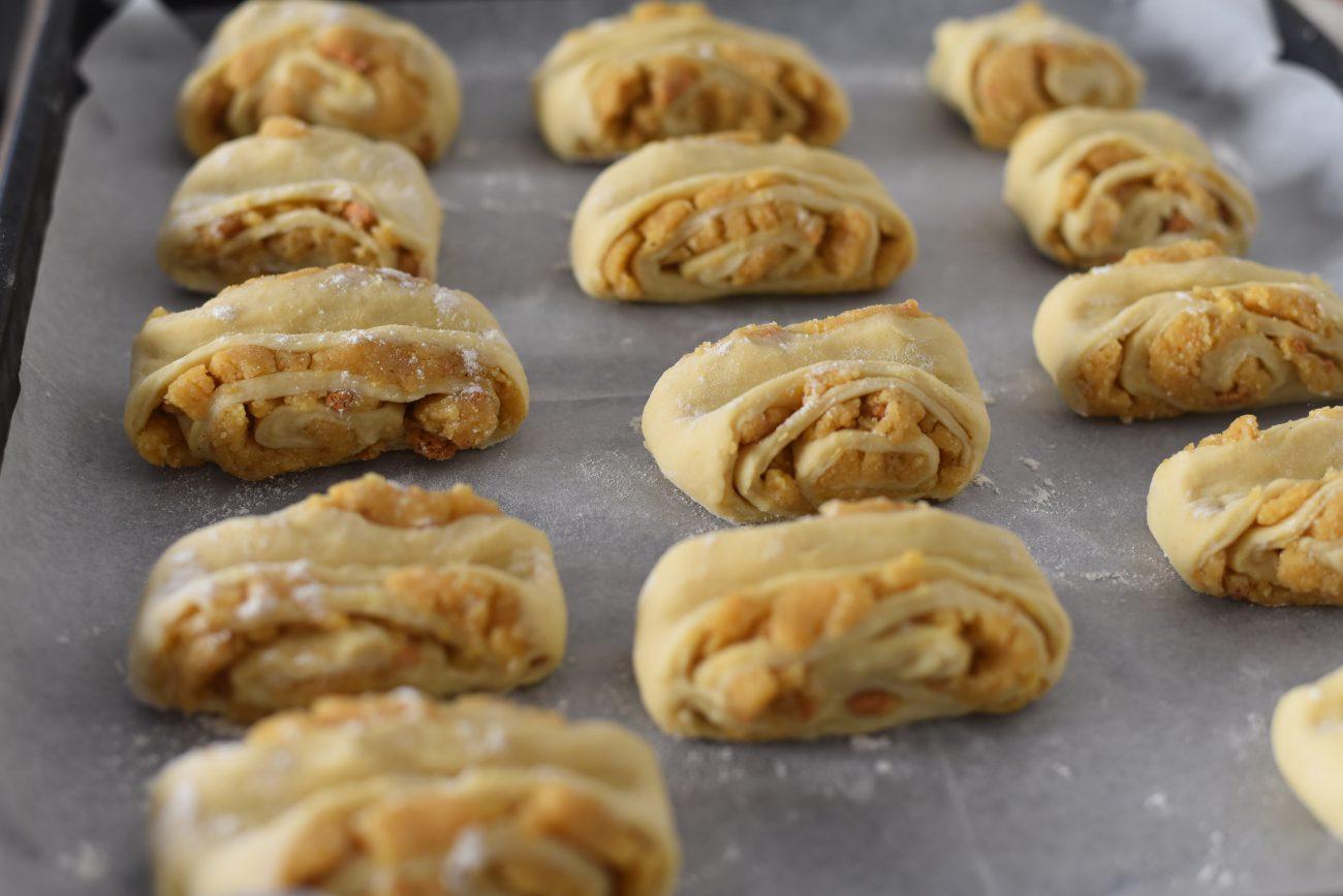 Almond Babka Rolls Crispy Babka Cookies With Sweet Almond