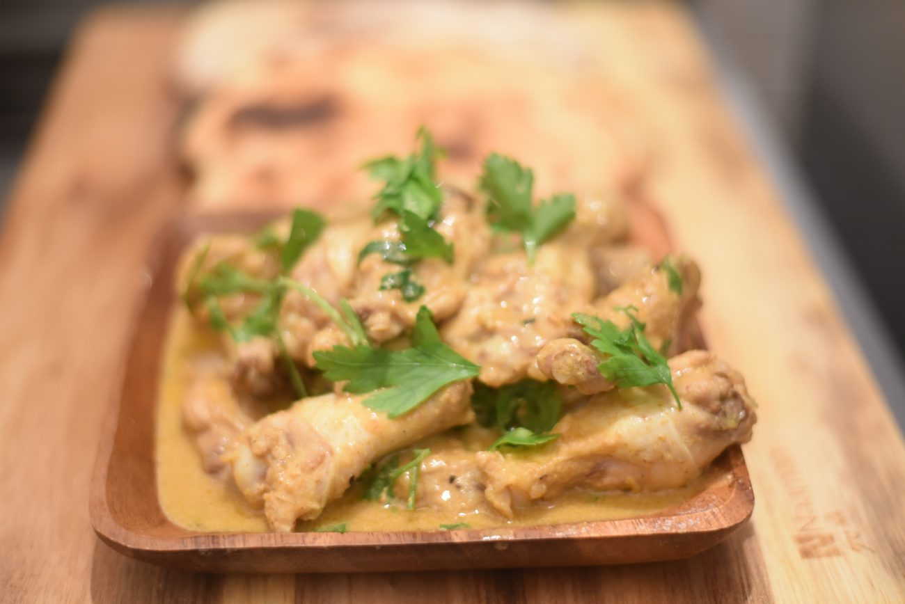 Coconut Curry south Indian Chicken Wings