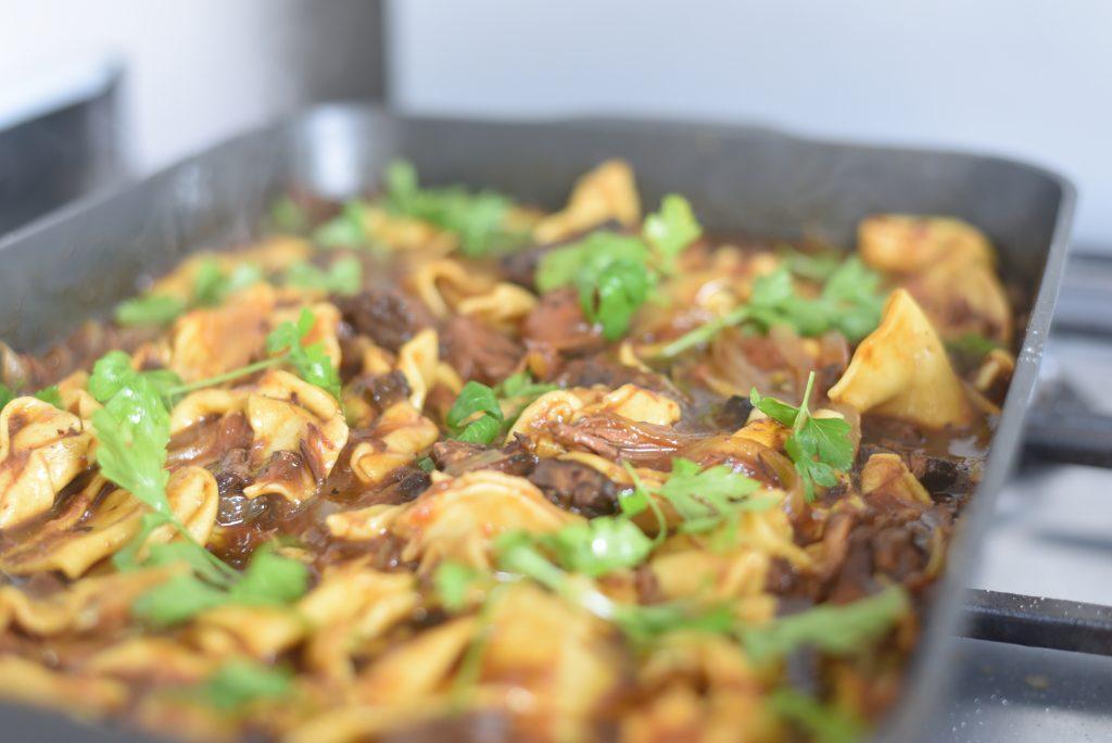 fresh pasta bourguignon
