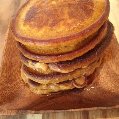 Coconut Pumpkin Pancakes