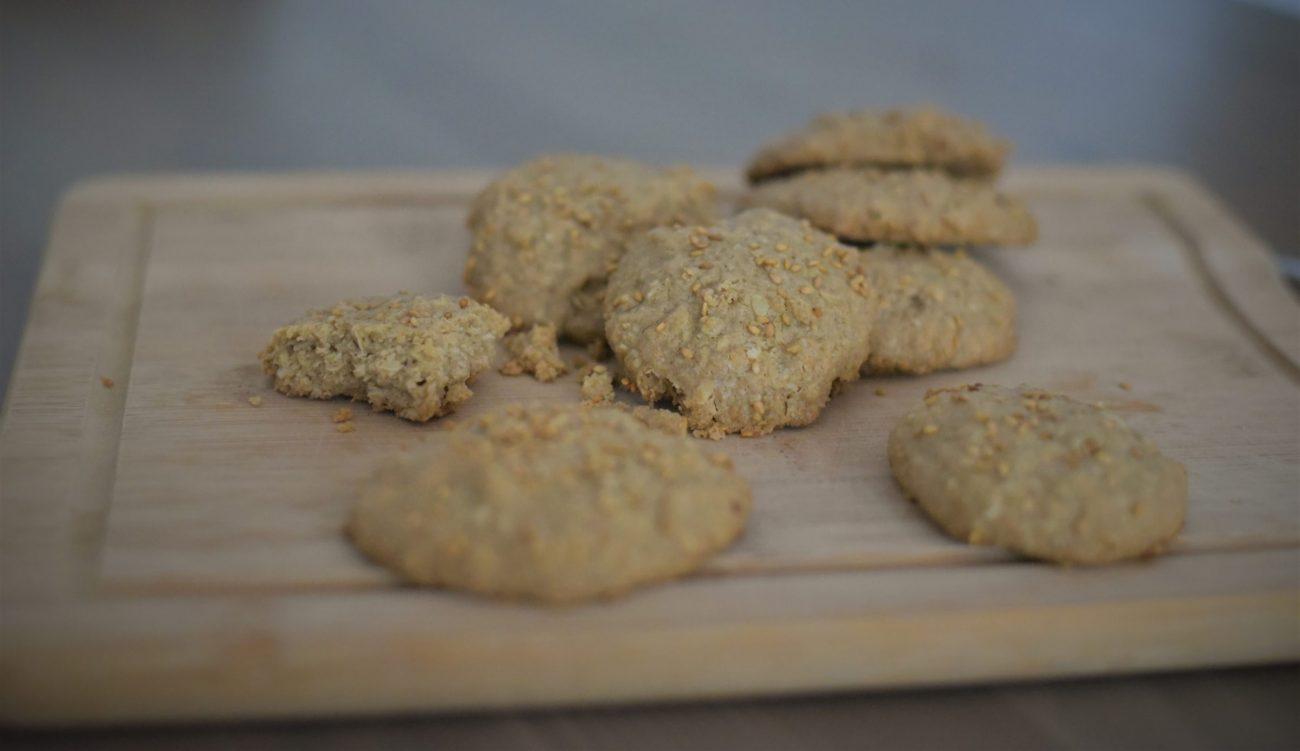 Vegan Teff Tahini Cookies