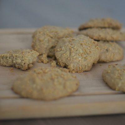 teff tahini cookies