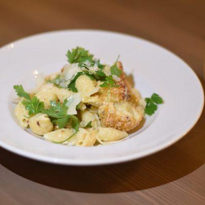 lemon cauliflower pasta