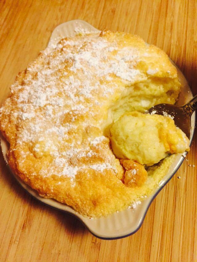 Sweet Vanilla Omelette Soufflé