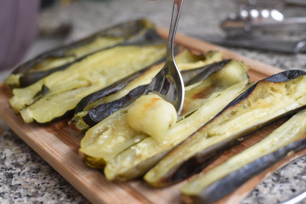 Yogurt Tahini zucchini puree