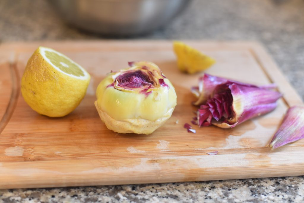 Peel and Clean an Artichoke