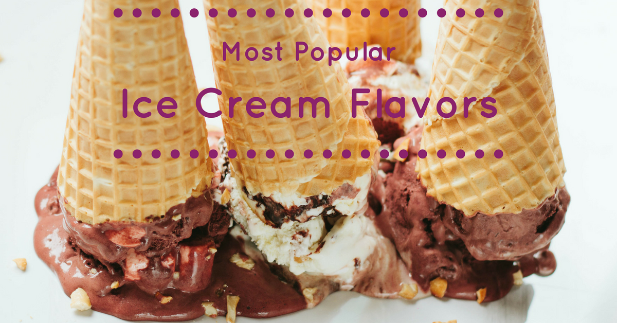 Most Popular ice cream flavors